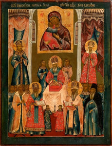 Deposition Of The Veil Of The Mother Of God - Icons