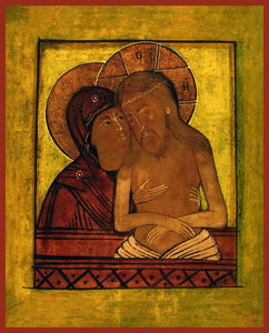 "Mother of God ""Do Not Lament Me"" Orthodox Icon"