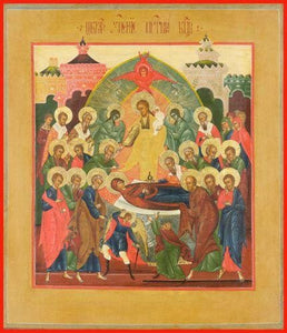 Dormition Of The Mother Of God - Icons