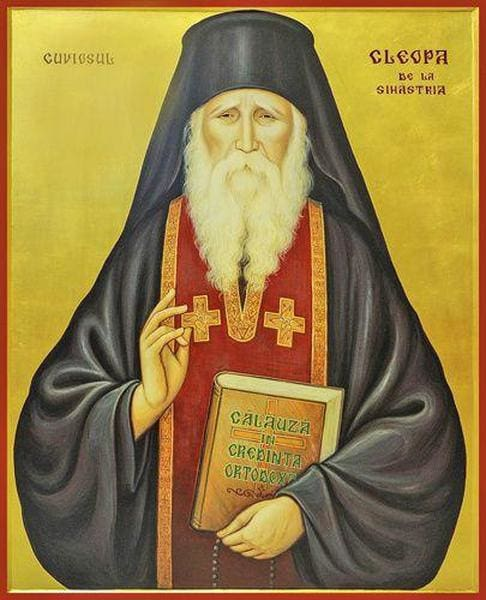 Elder Cleopa Of Romania - Icons