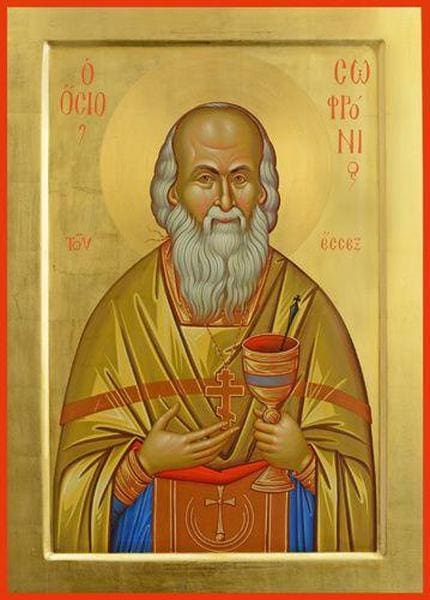 Elder Sophrony Of Essex - Icons