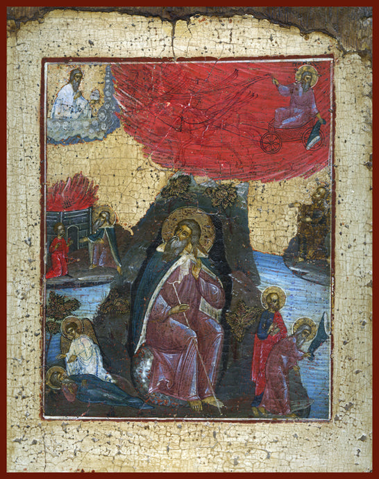 holy prophet Elijah orthodox icon