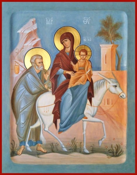 Flight To Egypt - Icons