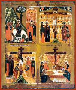 Four Part Icon Holy Week - Icons