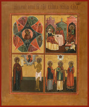 Load image into Gallery viewer, Four Sections Orthodox icon
