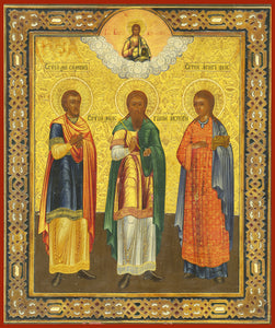 gurias abib samon orthodox icon