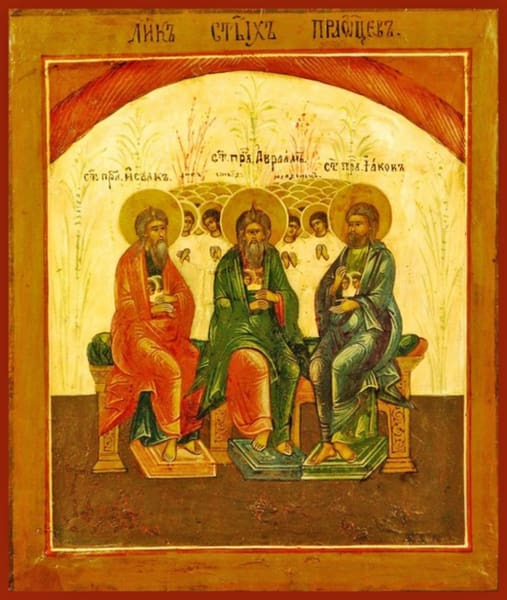 Holy Forefathers - Icons