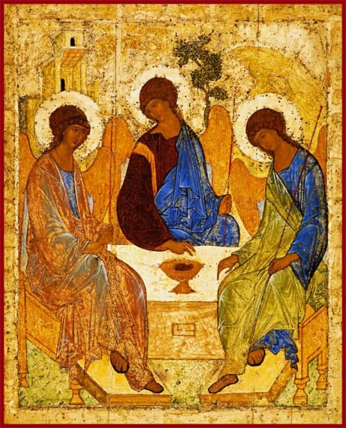 Holy Trinity Rublev - Icons