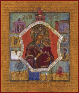 Mother Of God Akathist - Icons