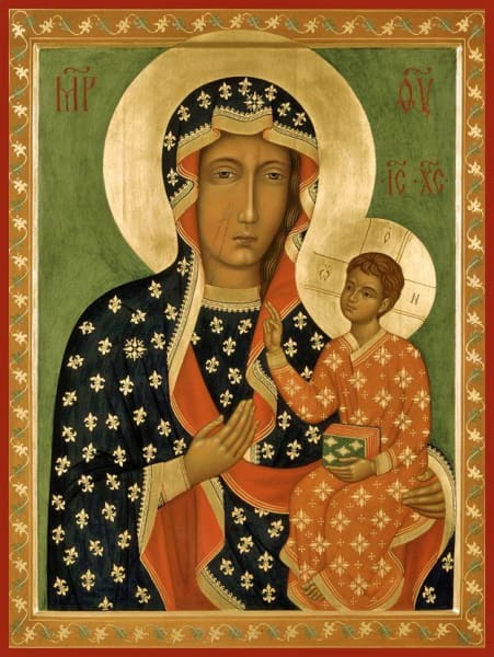 Mother Of God Chestohova - Icons