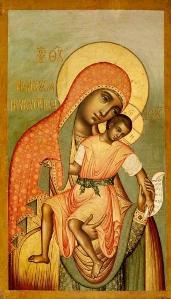 Mother Of God Eleusa - Icons