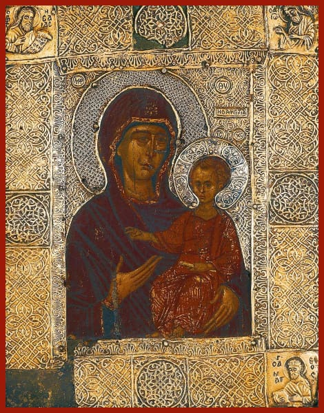 Mother Of God Hodegetria - Icons