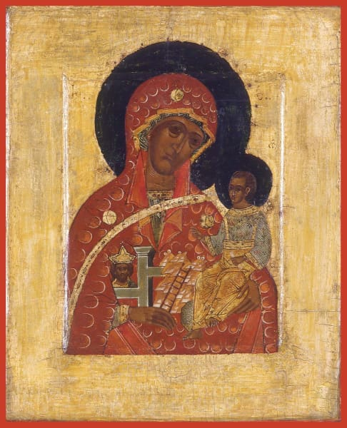 Mother Of God Inviolate Mountain - Icons
