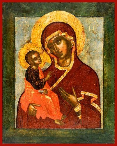Mother Of God Jerusalemskaya - Icons