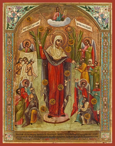 Mother Of God Joy Of All Who Sorrow With Coins - Icons