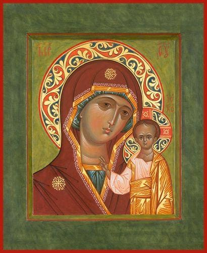 Mother Of God Kazan - Icons