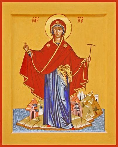 Mother Of God Protector Of Mount Athos - Icons