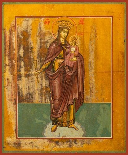 Mother Of God Queen Of Heaven - Icons