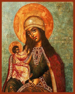 Mother Of God Siloam - Icons