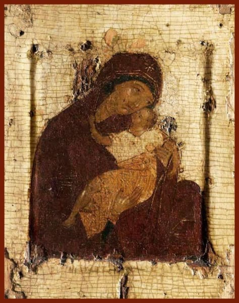 Mother Of God Tender Mercy - Icons