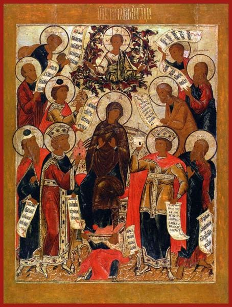 Mother Of God Of The Akathist - Icons