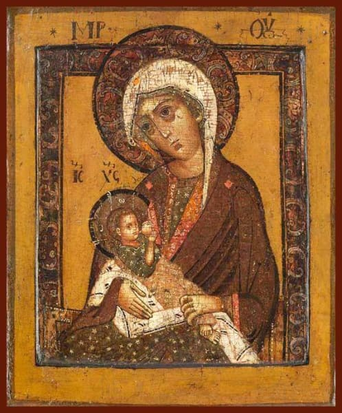 Mother Of God The Milk-Giver - Icons