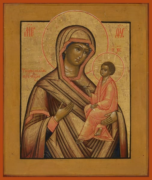 Mother Of God Tikhvin - Icons