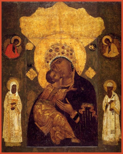 Mother Of God Volokolamsk - Icons