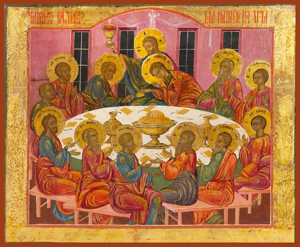 Mystical Supper - Icons