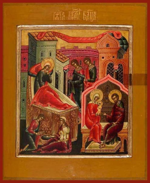 Nativity Of The Mother Of God - Icons