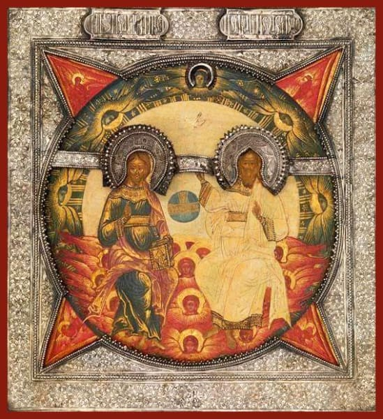 New Testament Trinity - Icons