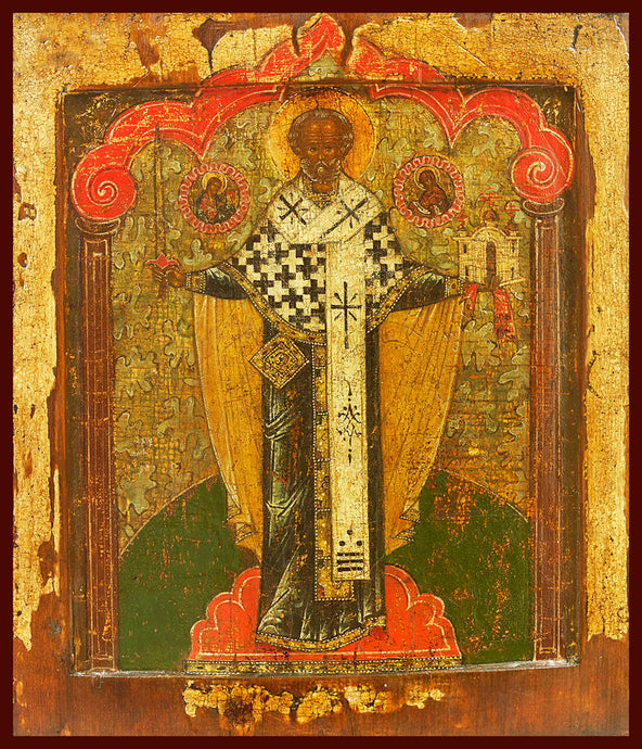 St. Nicholas of Mozhaisk Russian Orthodox icon