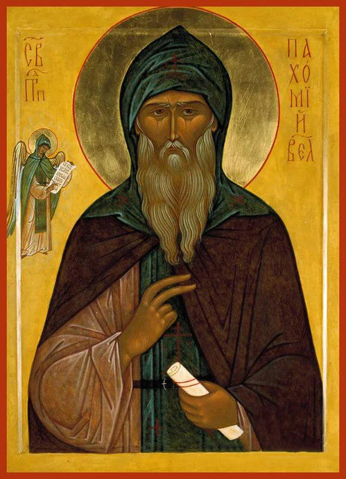 St. Pachomius the Great Russian Orthodox icon