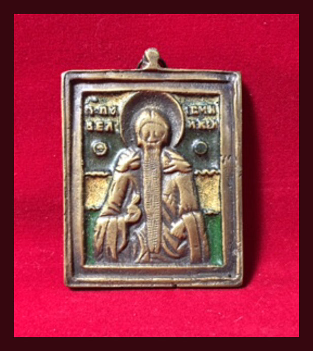 St. Paisios the Great antique icon