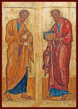Load image into Gallery viewer, Sts. Peter and Paul Orthodox icon