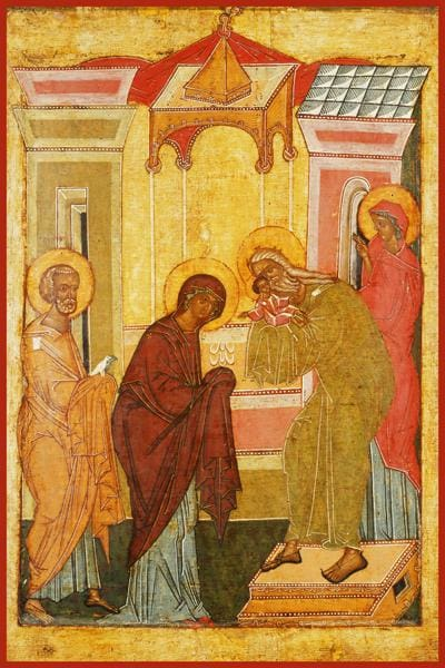Presentation Of The Lord In The Temple - Icons