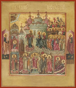 Protection Of The Mother Of God Pokrov - Icons