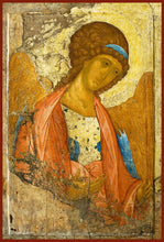 Load image into Gallery viewer, Archangel Gabriel Orthodox Icon by St. Andre Roublev