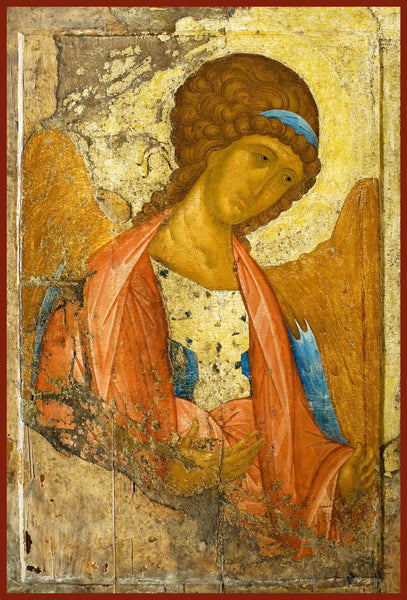 Archangel Gabriel Orthodox Icon by St. Andre Roublev