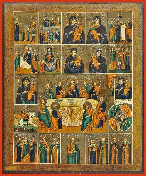 Selected Saints And Feast Days - Icons