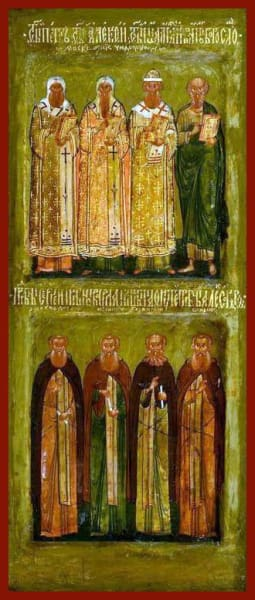 Selected Saints - Icons