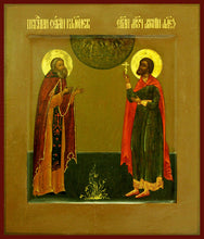 Load image into Gallery viewer, Sts. Sergius and Anthony of Alexandra