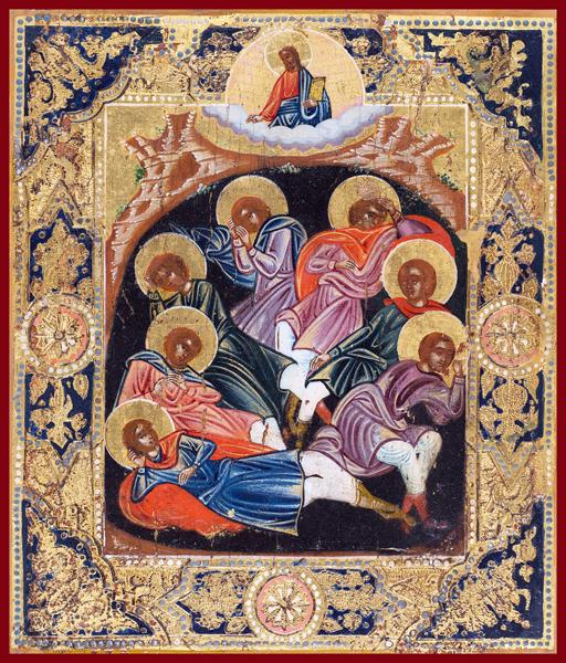 seven sleepers Russian orthodox icon