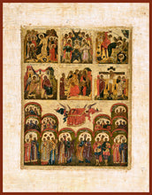 Load image into Gallery viewer, The Six Days Orthodox Icon
