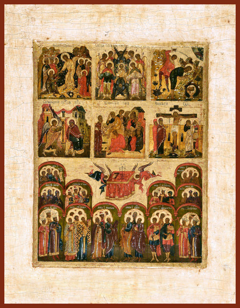 The Six Days Orthodox Icon
