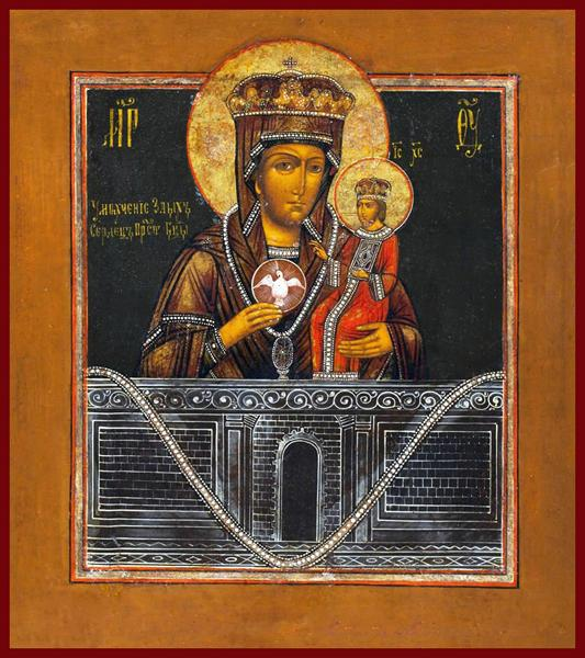 mother of god Russian icon