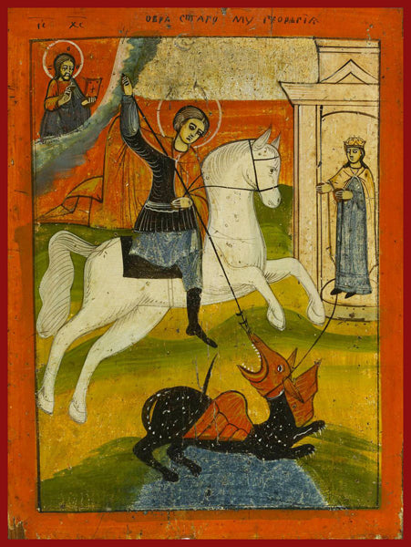 St. George the Great Martyr Russian Orthodox icon