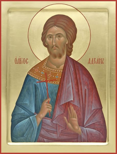 St. Adrian The Martyr - Icons