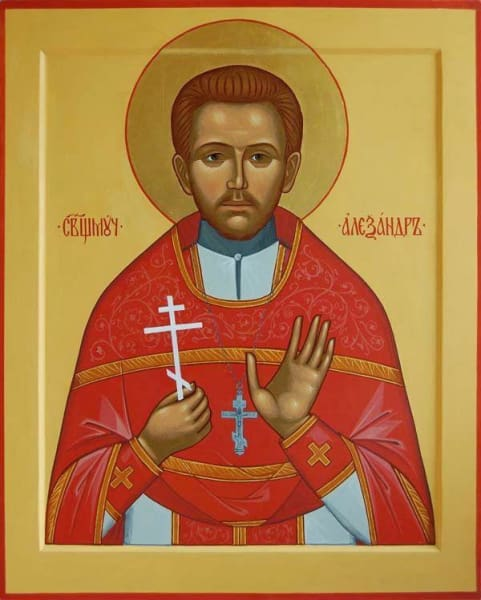 St. Alexander Ciceronov The New Martyr - Icons