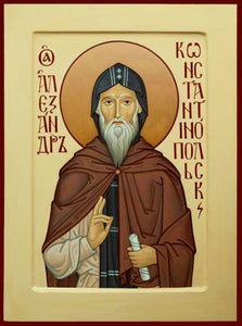 St. Alexander Of Constantinople - Icons